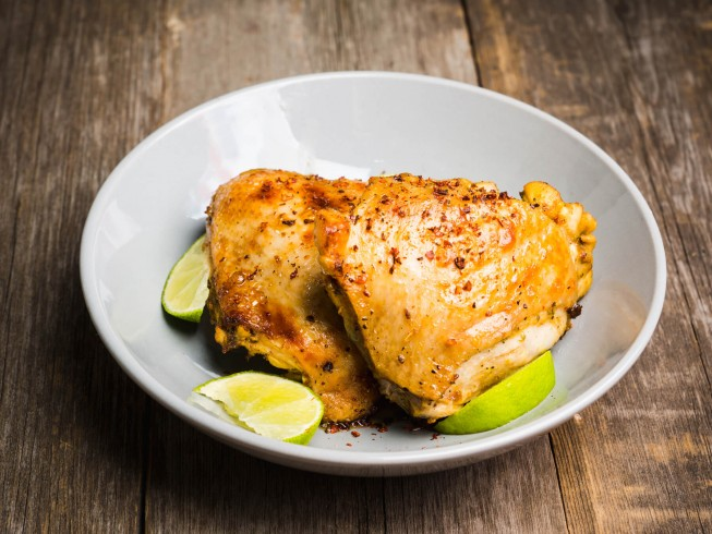 photo of Baked Key Lime Chicken