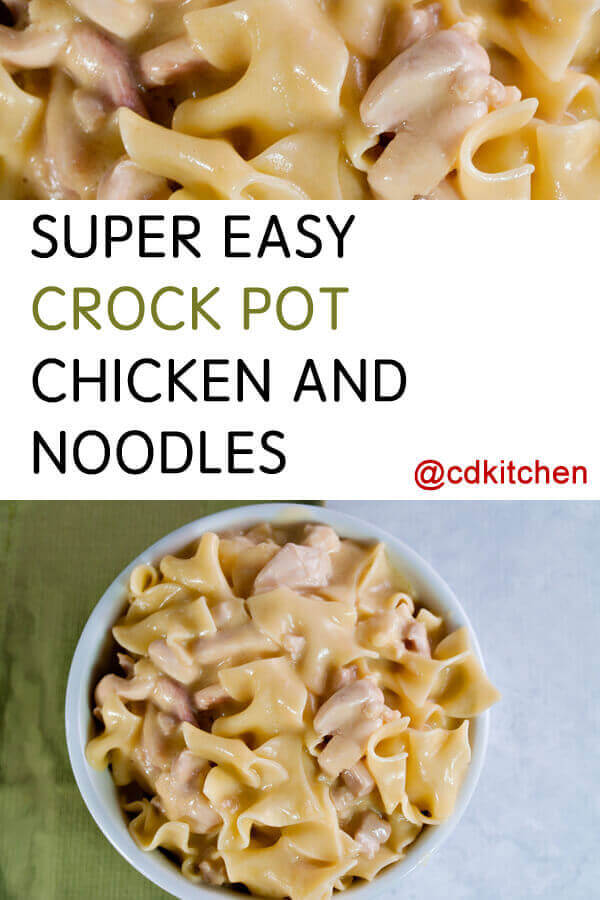 how to make chicken and noodles in crock pot