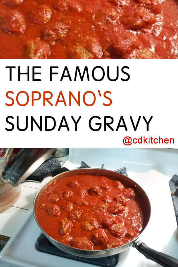 Food Recipes From The Sopranos