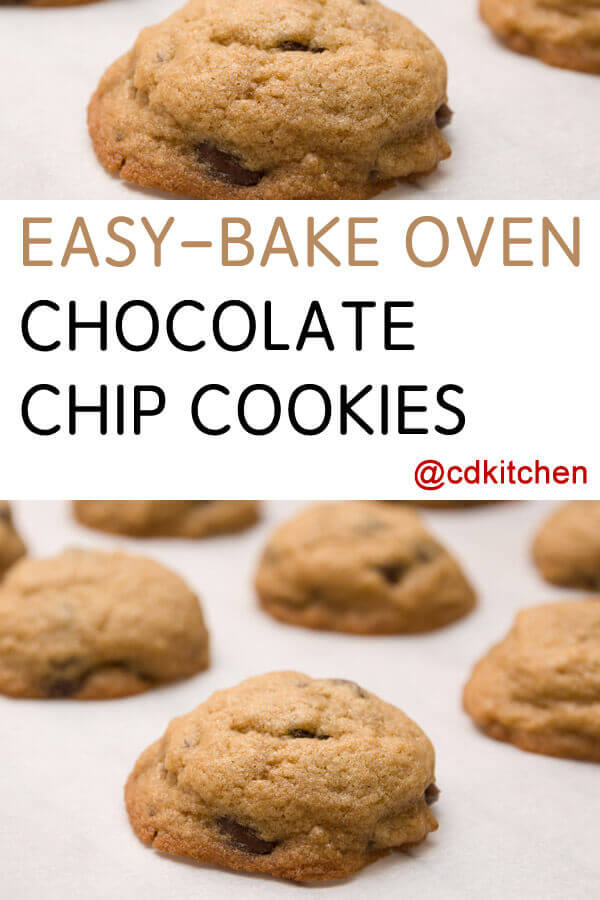 Easy Bake Oven Chocolate Chip Cookies Recipe From