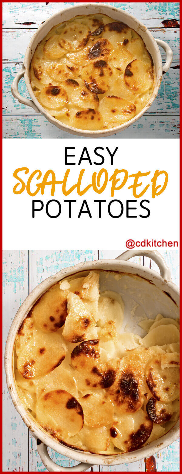 Easy Scalloped Potatoes Recipe | CDKitchen.com
