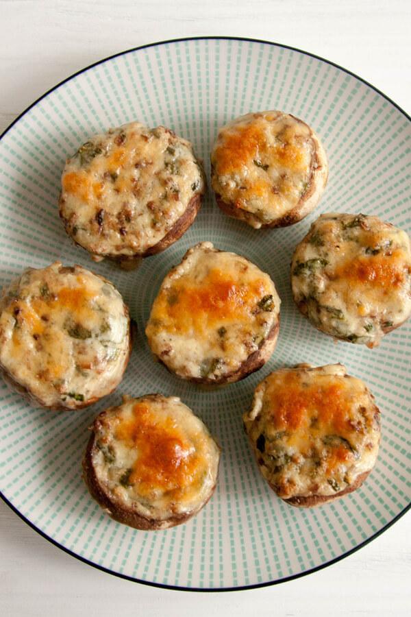 gene autry's stuffed mushrooms recipe  cdkitchen