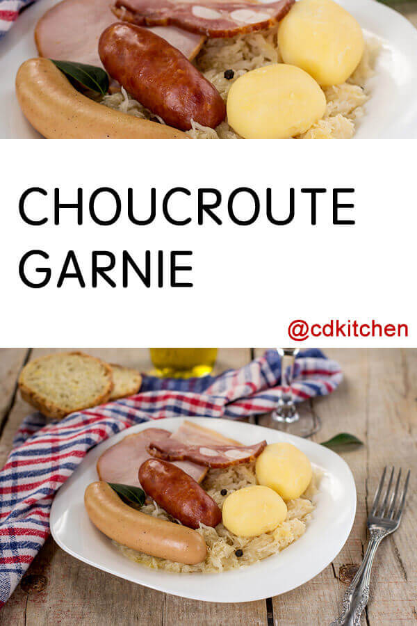 Quick Choucroute Recipe — Dishmaps