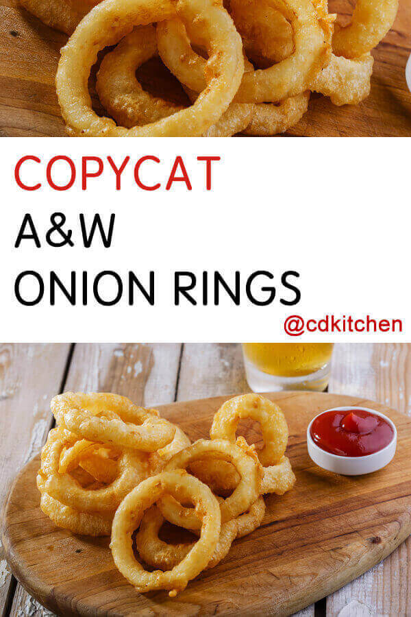 A And W Onion Rings Recipe