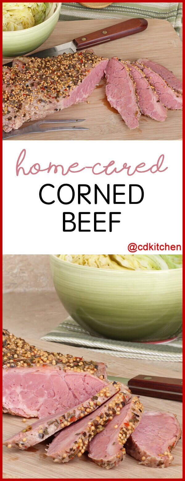Home-Cured Corned Beef Recipe | CDKitchen.com