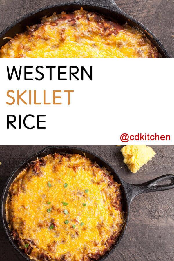 Western skillet rice recipe cdkitchen western skillet rice recipe forumfinder Images