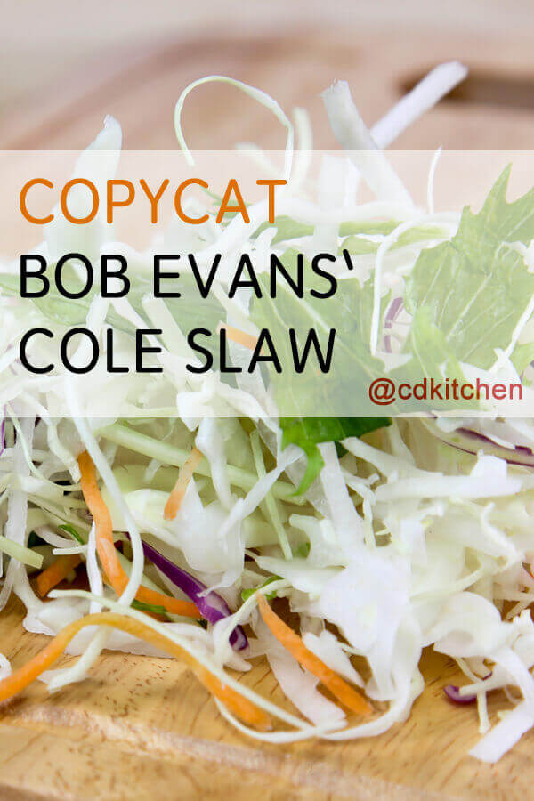 Country Kitchen Coleslaw Recipe