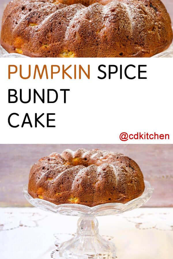 Pumpkin Cake Recipes Using Spice Cake Mix
