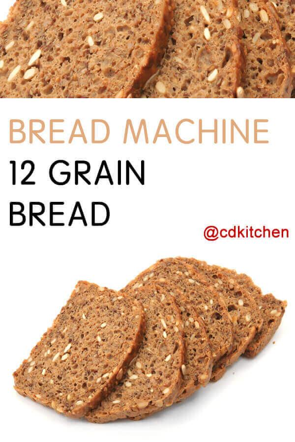 whole grain bread recipe for bread machine