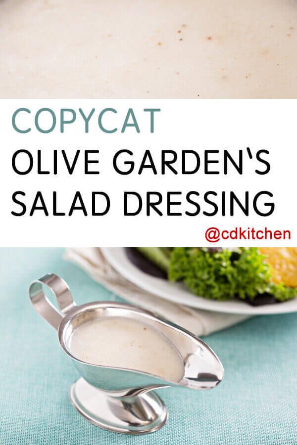 Olive garden salad dressing recipe for Olive garden salad dressing recipe secret