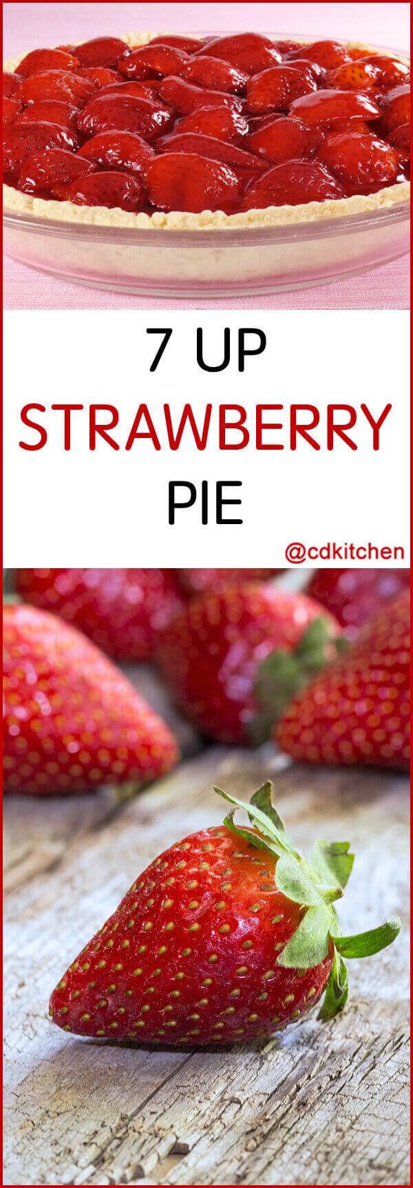 7 Up Fresh Strawberry Pie Recipe | CDKitchen.com