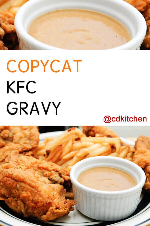 Copycat Kfc Gravy Recipe Cdkitchen Com