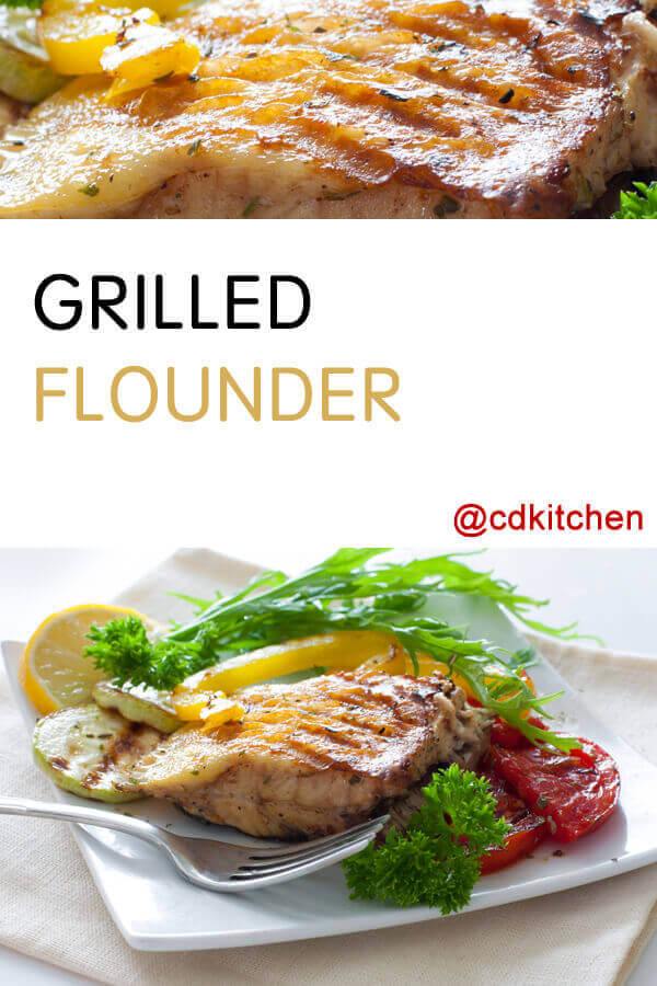 Grilled Flounder Recipe Cdkitchen Com