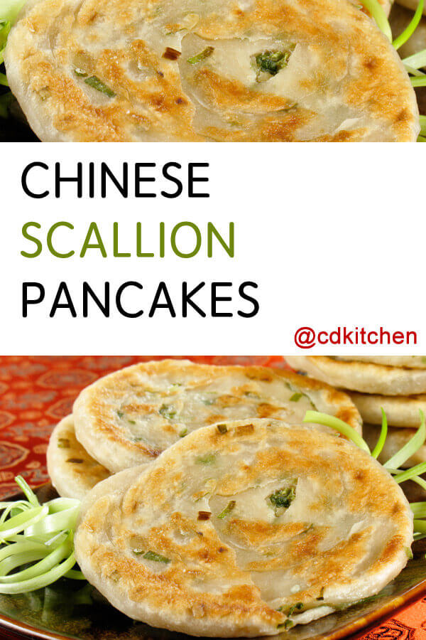 Chinese Scallion Pancakes Recipe | CDKitchen.com