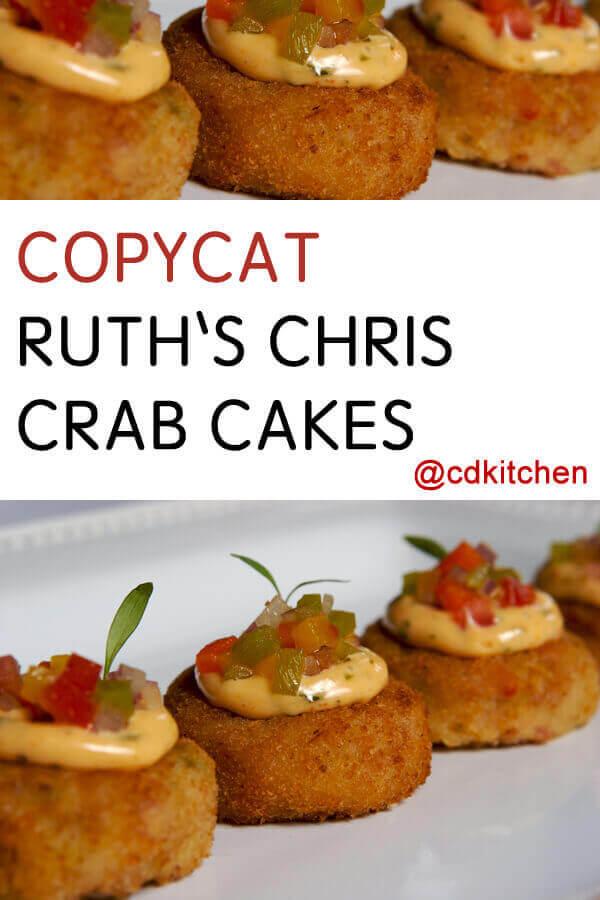 Ruth Chris Steakhouse Crab Cake Recipe