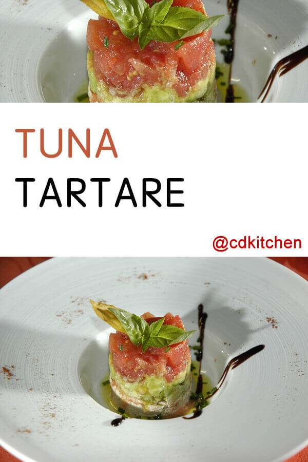 Tuna Tartare Recipe | CDKitchen.com