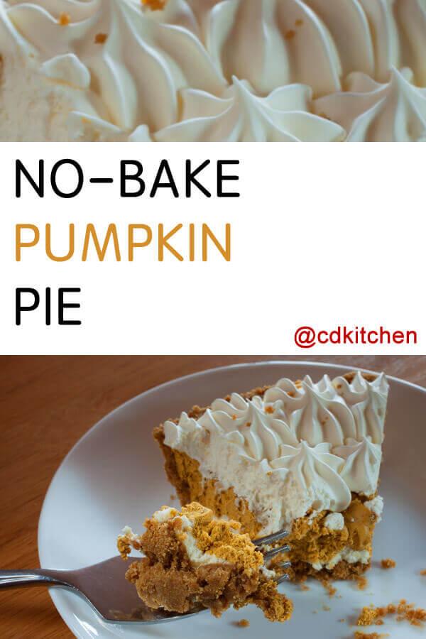 Bake Pumpkin Pie In Cake Pan