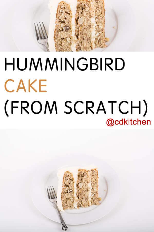 Hummingbird Cake Recipe From Scratch