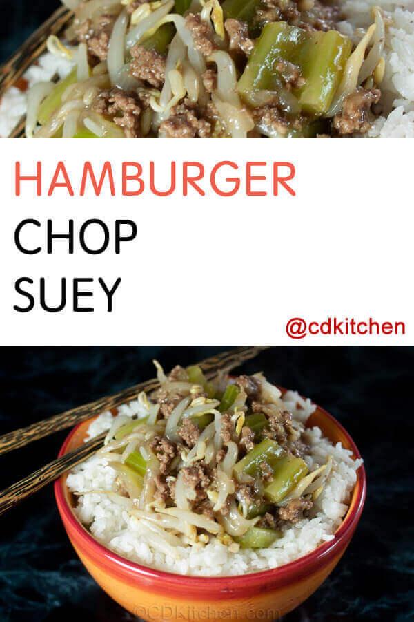 Hamburger chop suey recipe cdkitchen hamburger chop suey recipe forumfinder Image collections