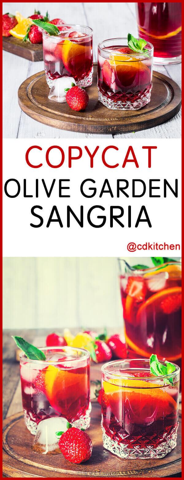 copycat olive garden sangria recipe