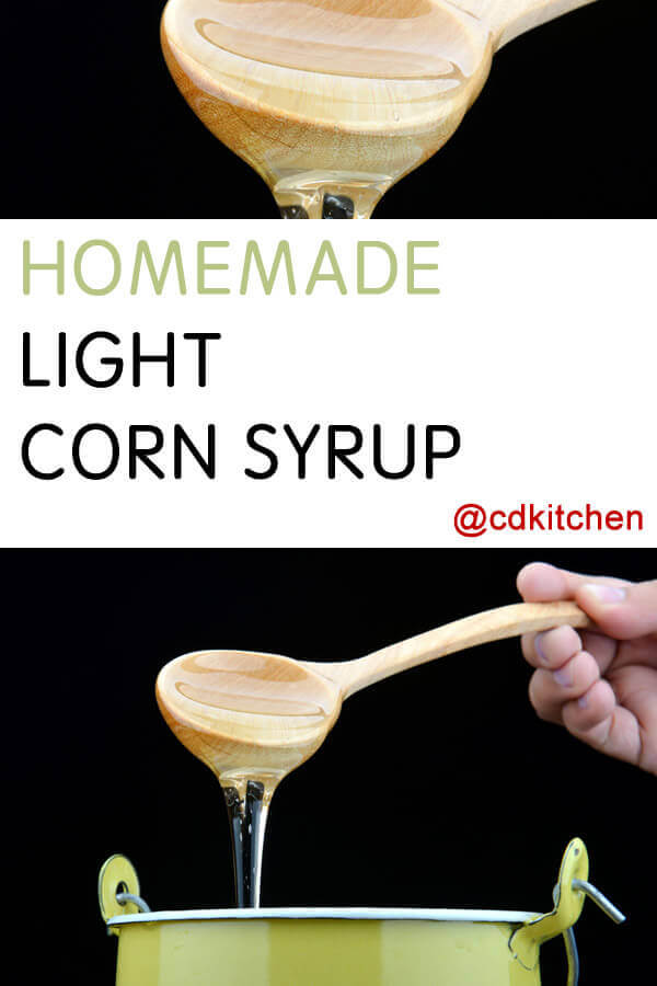 Homemade light corn syrup recipe Jam without boiling easy made flavorful