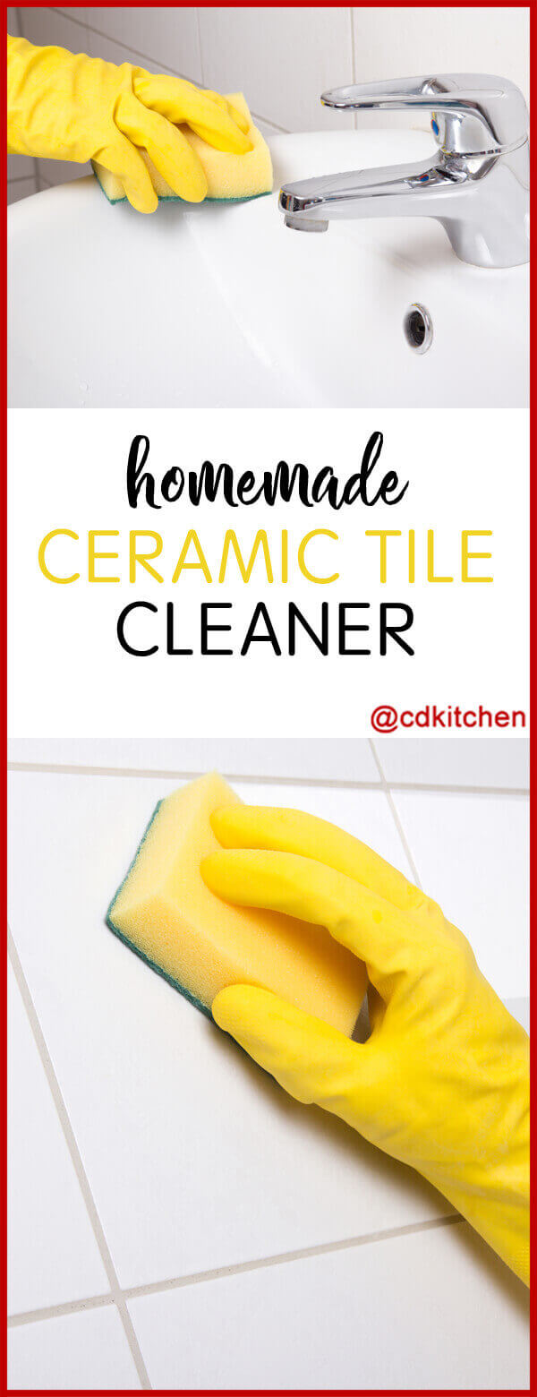 Homemade ceramic tile cleaner recipe cdkitchen homemade ceramic tile cleaner no need for harsh chemicals this homemade tile cleaner will dailygadgetfo Gallery