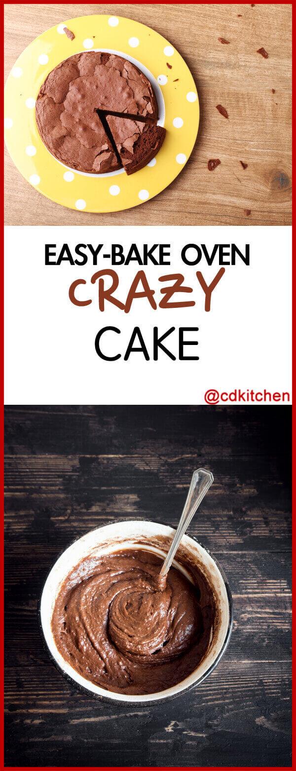 Easy Bake Oven Crazy Cake Recipe Cdkitchen Com