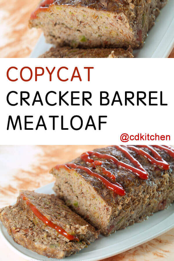 Cook S Kitchen Meatloaf