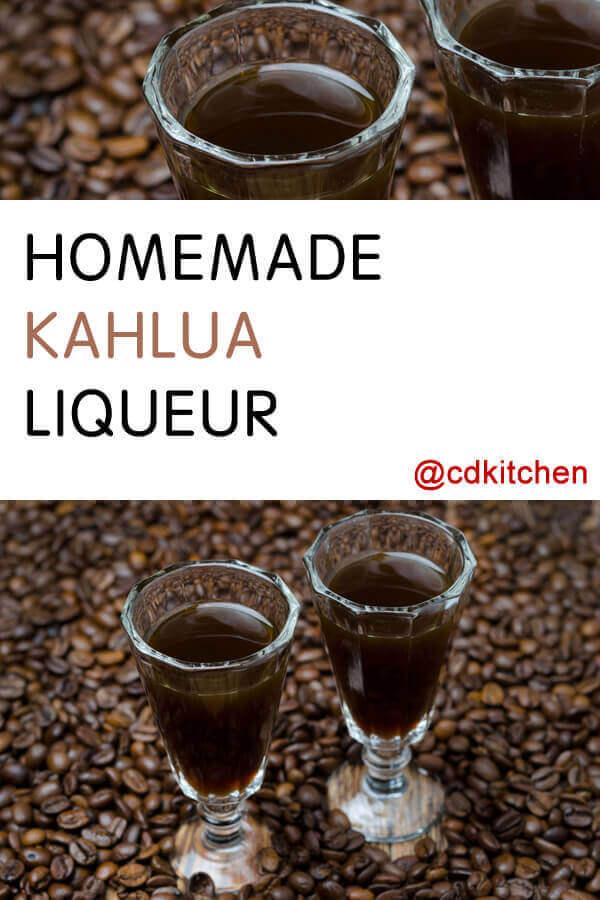 Homemade Kahlua Liqueur Recipe Cdkitchen Com