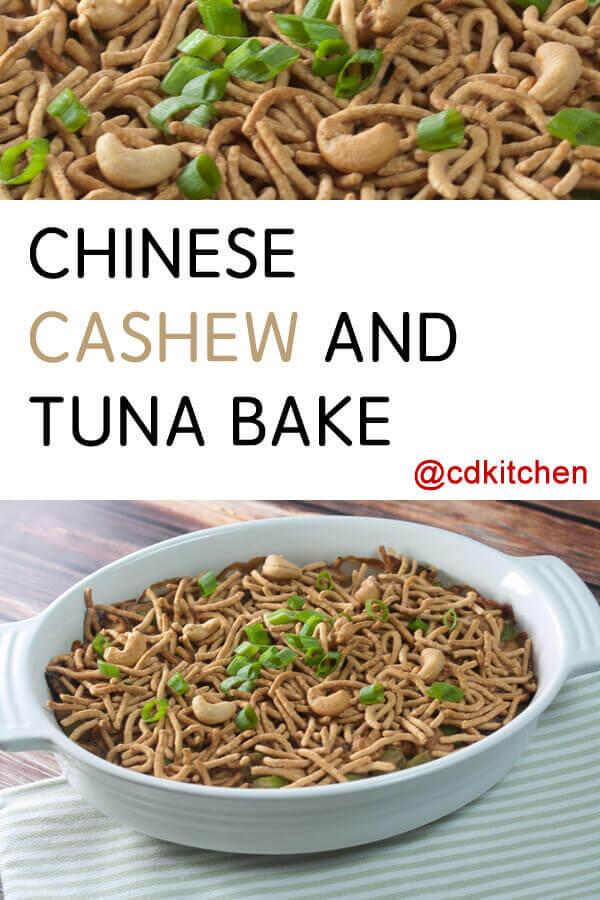 chinese cashew and tuna bake recipe from cdkitchen