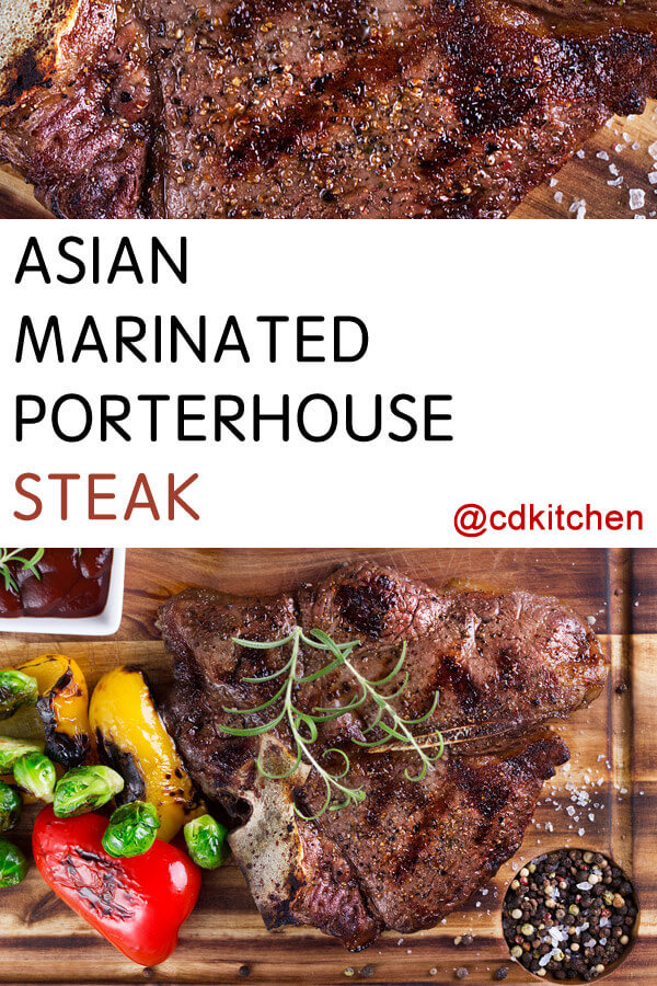 Porterhouse steaks, black pepper, , dark soy sauce, light soy sauce ...