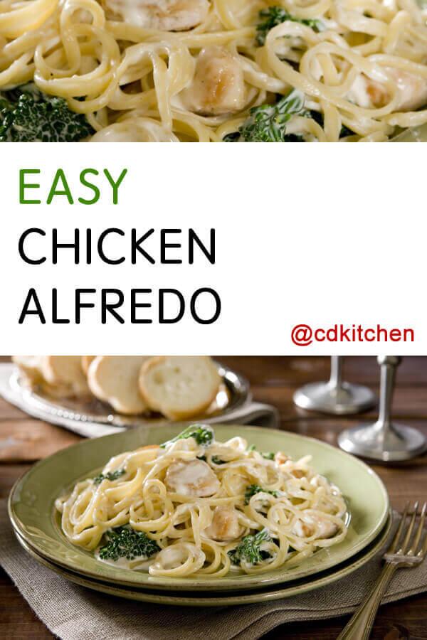 Easy Chicken Alfredo Recipe  Cdkitchencom-9301