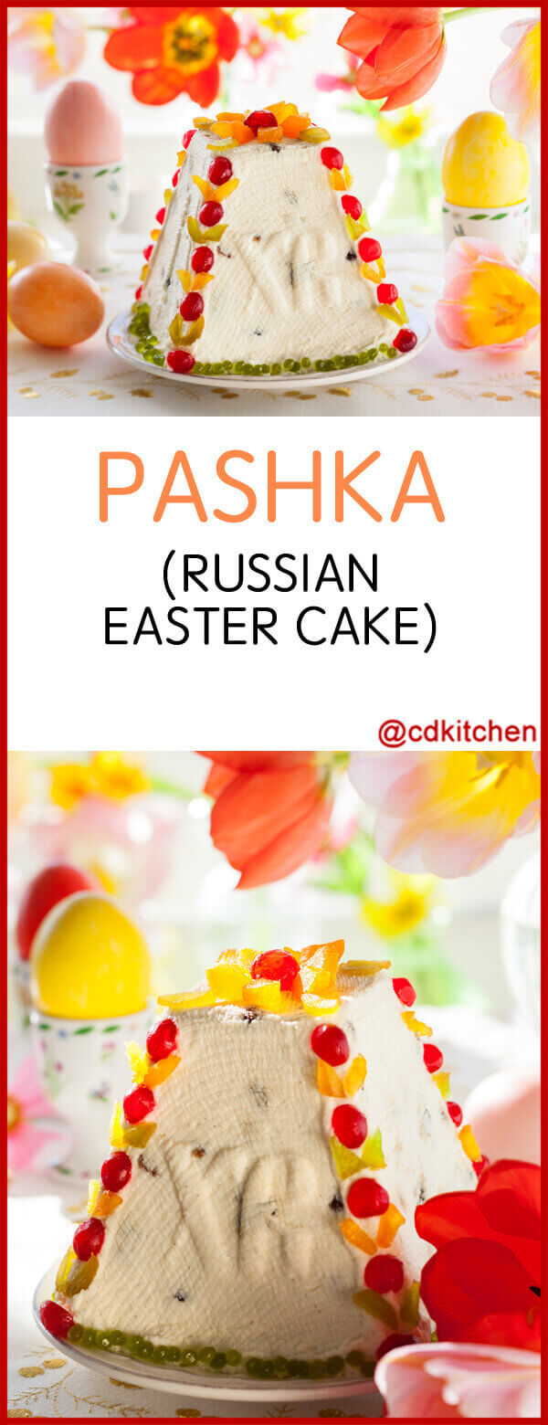 Pashka (Russian Easter Cake) Recipe | CDKitchen.com