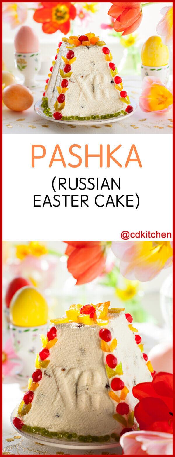 Russian Easter Cake Pashka