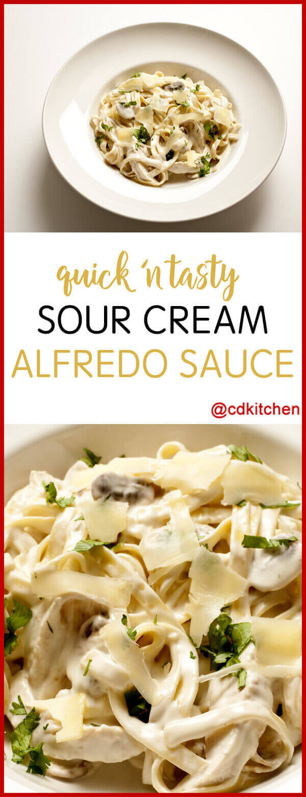 Sour cream pasta sauce recipes