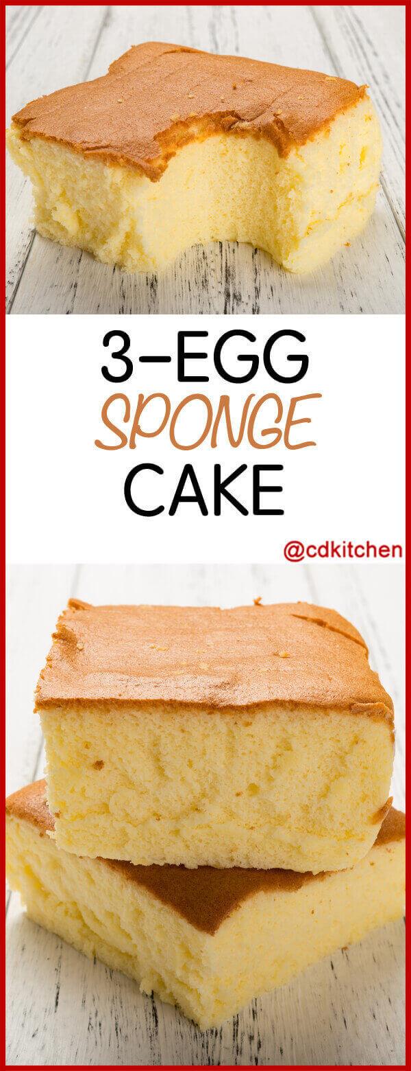 Butter Souffle Sponge Cake