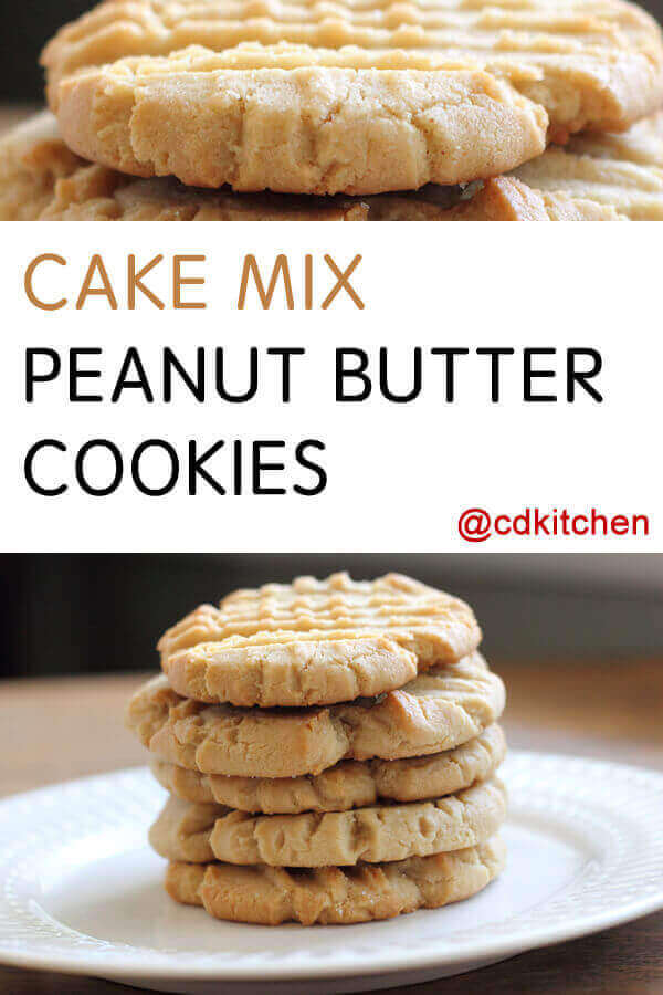 Peanut Butter Cookie Cake Recipe
