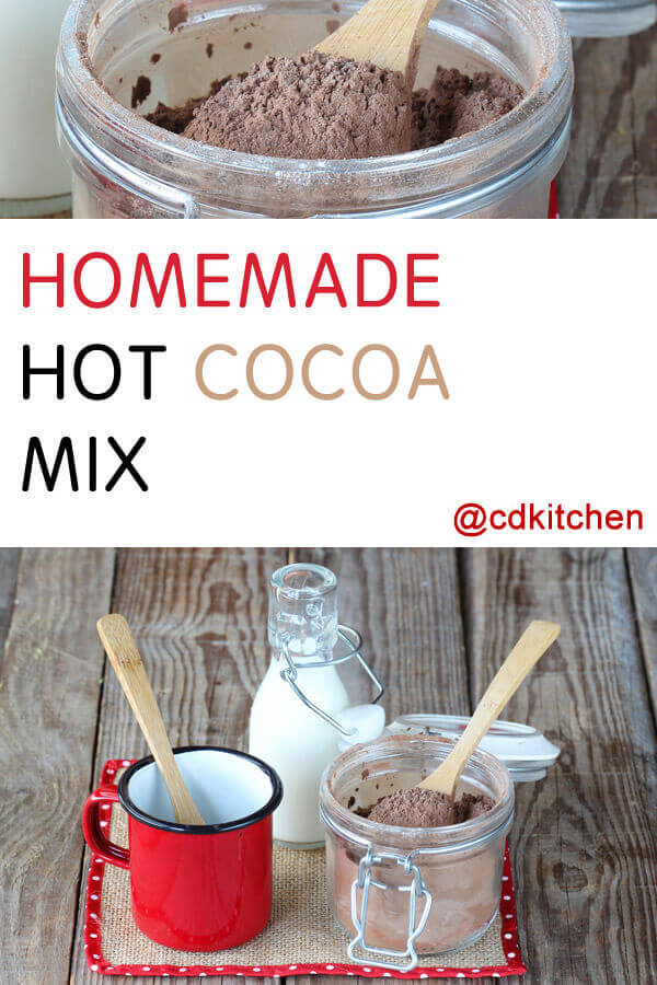 Homemade Hot Cocoa Mix Recipe Cdkitchen Com