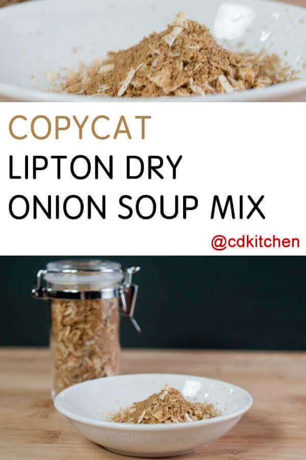 Copycat Lipton Dry Onion Soup Mix Recipe Cdkitchen Com