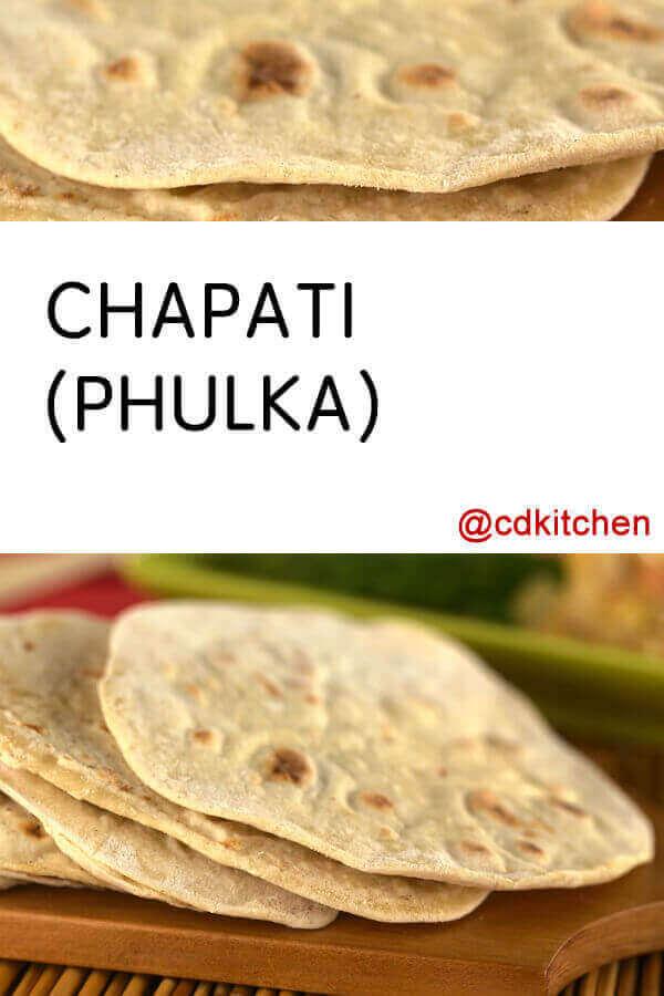 Chapati Bread Phulka Recipe Cdkitchen Com