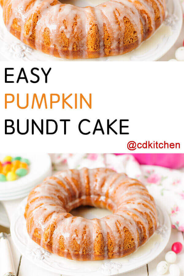 Pumpkin Rum Cake Using Cake Mix