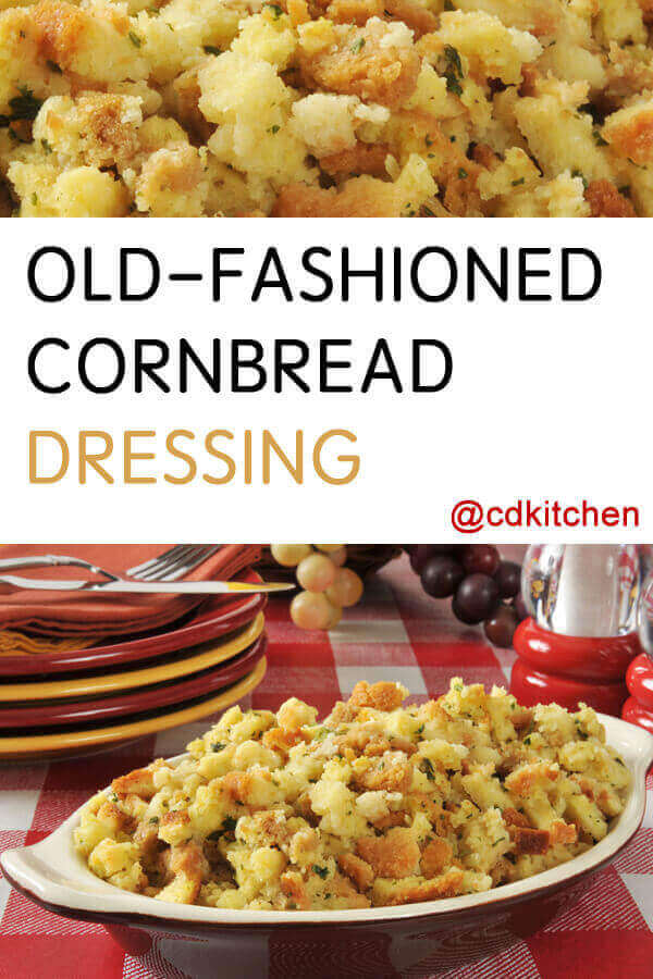 Quick Old Fashioned Cornbread Dressing