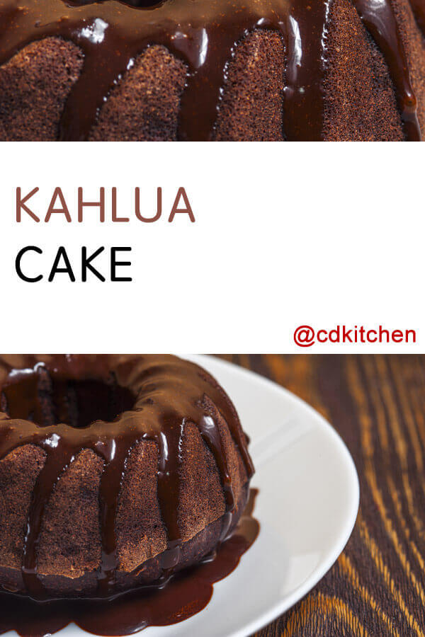 Rich Chocolate Kahlua Bundt Cake Recipe