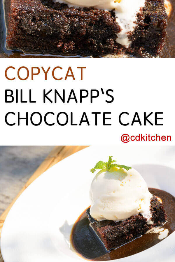Bill Knapps Recipes Chocolate Cake