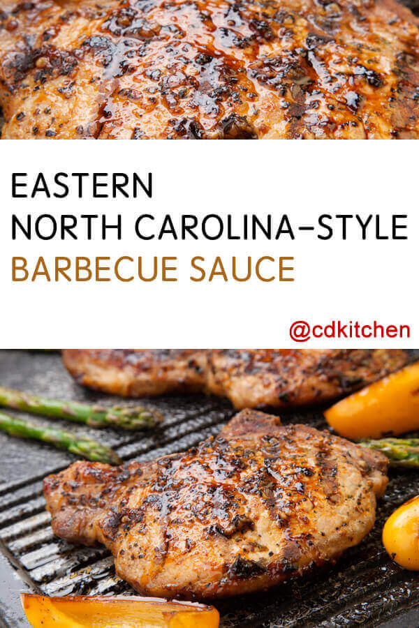 Eastern North Carolina-Style Barbecue Sauce Recipe | CDKitchen.com