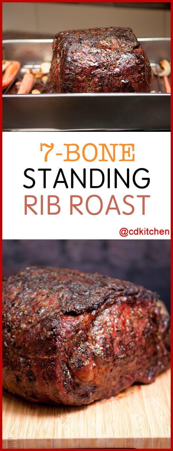 7 Bone Standing Rib Recipe Cdkitchen Com