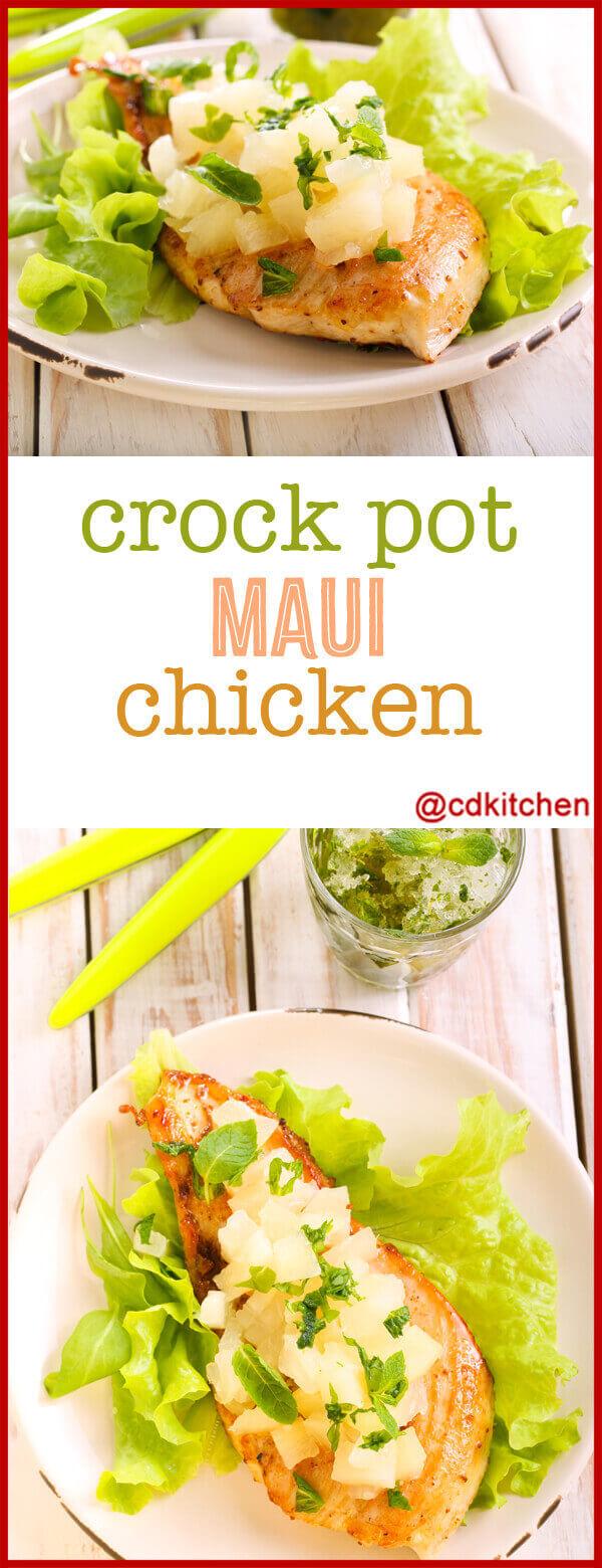 Made With Boneless Skinless Chicken Breast Halves Chicken Broth Pineapple Chunks Vinegar