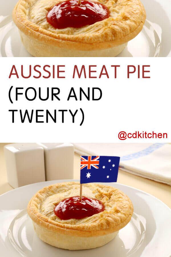 aussie meat pie four and twenty recipe cdkitchencom