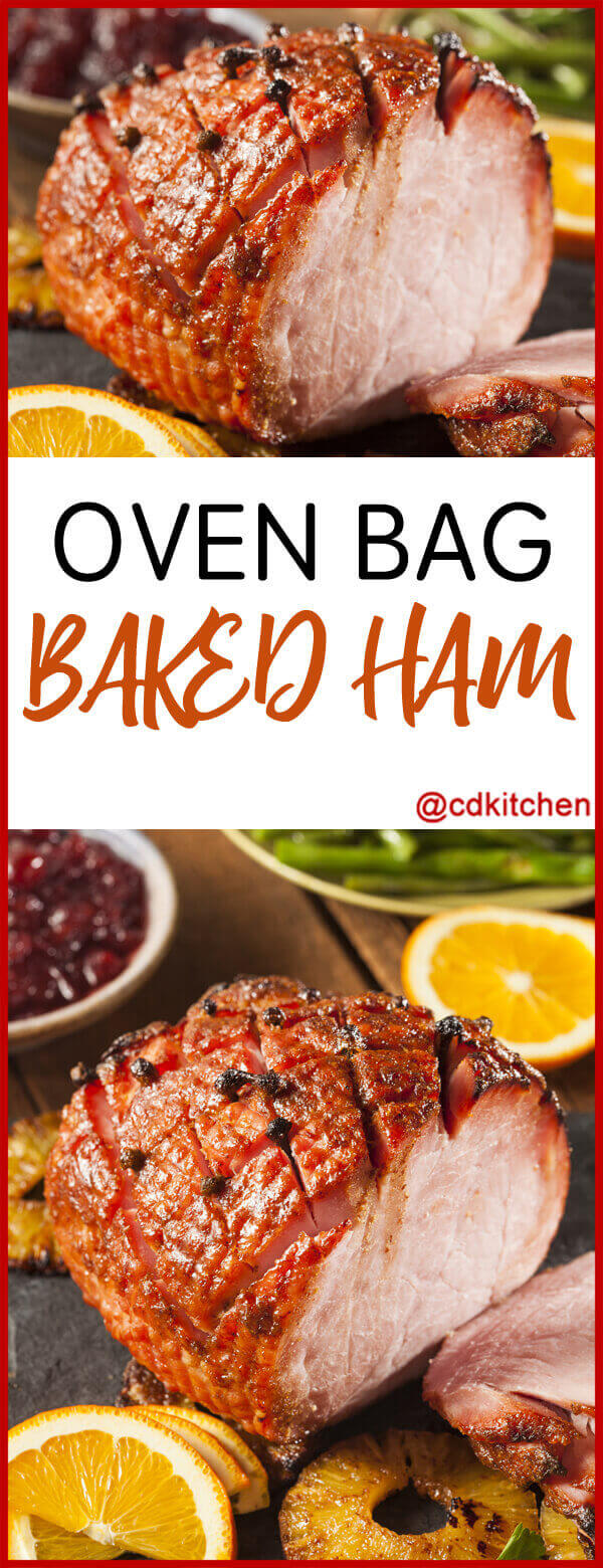 Oven Bag Baked Ham Recipe Cdkitchen Com