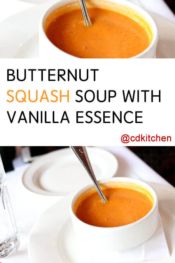 Made with butternut squash, carrots, celery, onion, leek, garlic ...